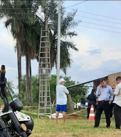 Joven padre muere electrocutado en Itauguá