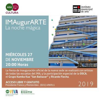 IMA inaugura su nueva sede con gran festejo en las calles del microcentro