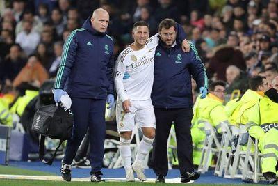 """Hazard sólo sufre una """"contusión"""" en el tobillo"""