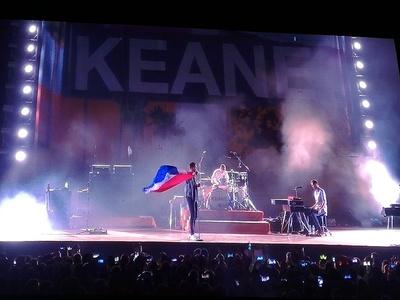 En un recital mágico, Keane se entregó al público paraguayo y nos deja su profundo amor y respeto a la cultura guaraní
