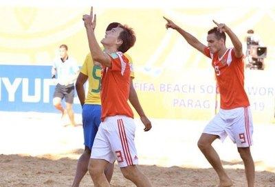 Están los 4 semifinalistas del Mundial de Beach Soccer