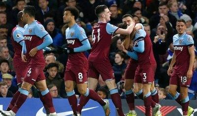 ¡Batacazo! Con Balbuena como figura, West Ham venció a Chelsea