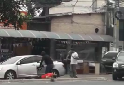 Violento asalto en Ñemby