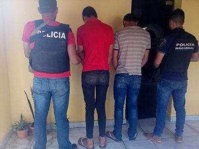 Detienen a presuntos asesinos en Horqueta