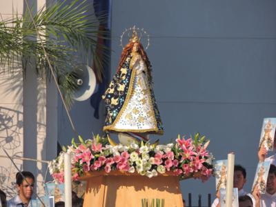 Celebrarán misa en honor a la Virgen de Caacupé en Turquía