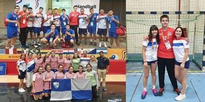 HANDBALL: SELECCIONES PARAGUAYAS INVICTAS DURANTE LOS XXV JUEGOS SUDAMERICANOS ESCOLARES