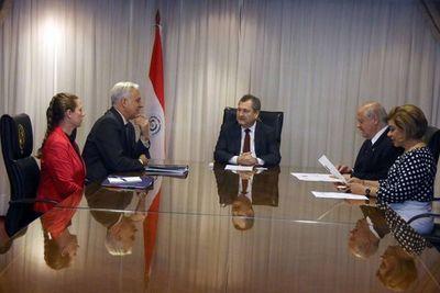 Audiencia con representantes de la Embajada de EE.UU