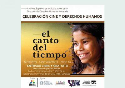 Cine para conmemorar el Día Internacional de los DDHH