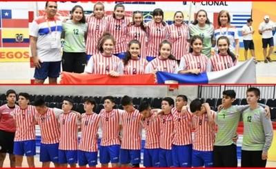 Handball conquista el oro en ambas ramas