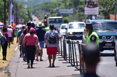 Camino a Caacupé: Se prevé lluvias dispersas para mañana durante el retorno » Ñanduti
