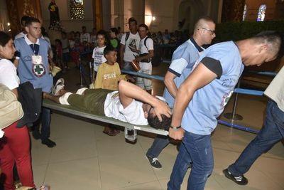 Niños menores de 10 años entre los más atendidos en Caacupé