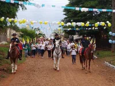 Comunidad esteña vive con intensidad el día de la Santa Patrona de Paraguay