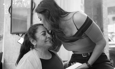 Larissa Riquelme celebró con emoción el cumpleaños de su mamá