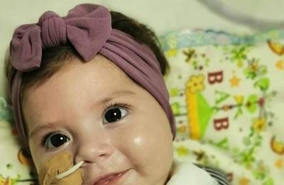 HOY / Si cada paraguayo aporta G. 15 mil la bebé Bianca podrá adquirir la ampolla que garantiza su cura
