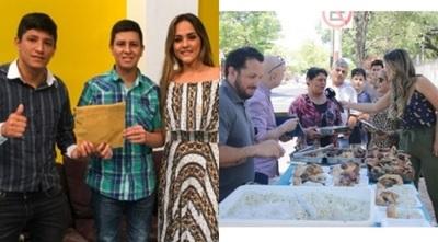 En el programa de Karina Doldán llevaron a cabo una pollada solidaria para cerrista viral