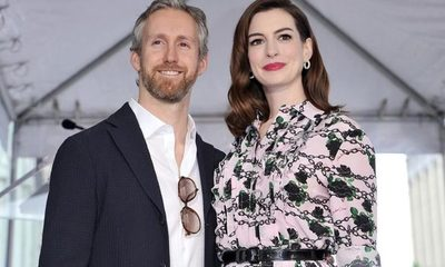 Anne Hathaway dio a luz a su segundo hijo