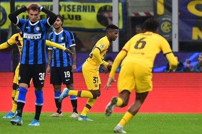 El Barça 'B' conquista Milán y deja al Inter fuera de octavos