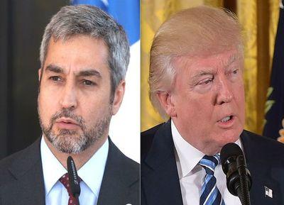 Donald Trump y Mario Abdo mantendrán reunión de trabajo