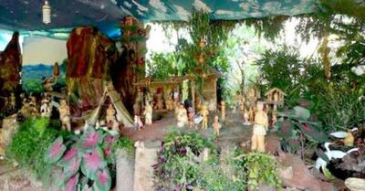 Pesebre de Itauguá es con figuras indígenas