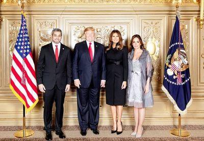 Abdo habla hoy con Trump sobre lavado y narcotráfico