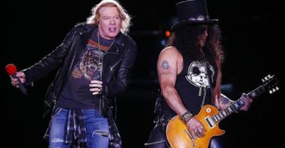 Guns N' Roses anunció su vuelta