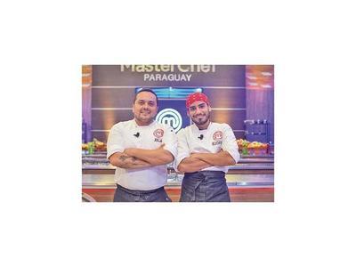 Julián y Rodrigo en la final de MasterChef Profesionales