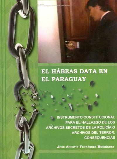Presentan libro sobre el hábeas data