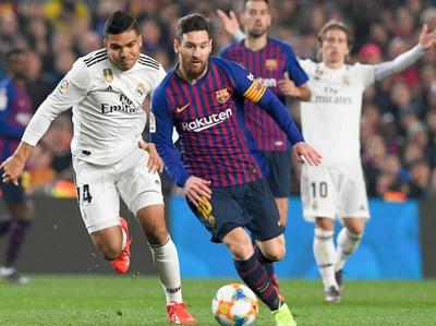 Barcelona y Real Madrid juegan un clásico con tinte político