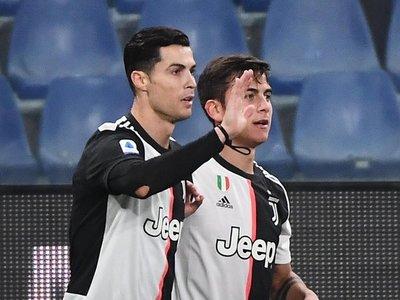 Golazos de Dybala y Cristiano hacen líder momentáneo a Juventus