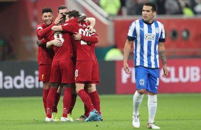Sobre el final, Liverpool derrota al Monterrey
