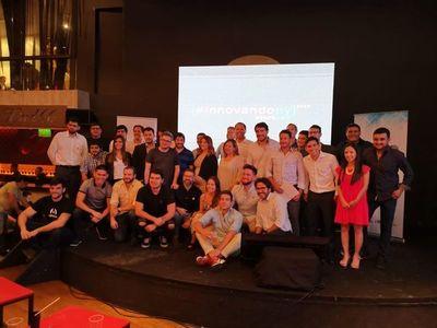 Entregaron premios a ganadores de InnovandoPY Startups 2019