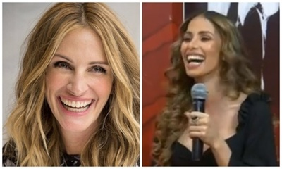 Compararon a la modelo Noelia Vázquez con Julia Roberts