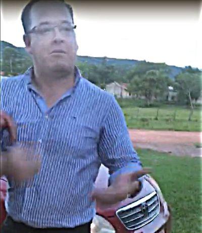 Miguel Cuevas niega haber agredido a dirigente y a concejal en Sapucái