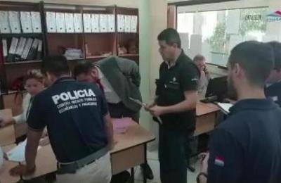 Sorpresivo allanamiento en Aduanas de Mariano Roque Alonso