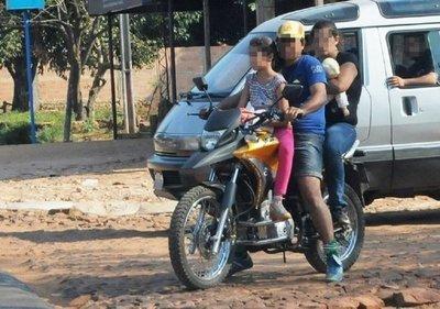Alto Paraná: Bebé muere tras caer de la moto