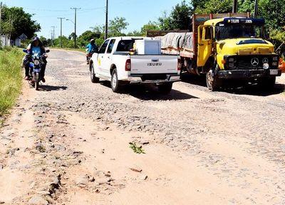 Urgen arreglo del tramo Unión-Santaní