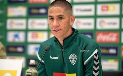 Elche rescinde el contrato del paraguayo Danilo Ortiz