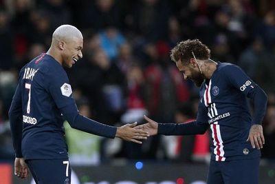 Neymar, Di María y Mbappe lideran el once de la primera vuelta