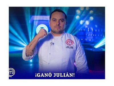 Julián es el primer Masterchef profesional