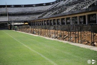 Olimpia: Comienza la construcción de las Plateas VIP en Para Uno
