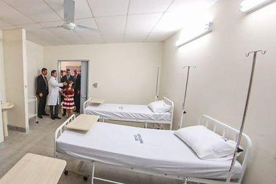 Mejoras en hospital de Luque hicieron que se cumplan las ordenanzas por unos momentos