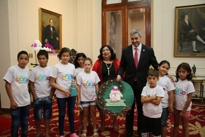 Ministerio de la Niñez y Adolescencia presentó las inversiones realizadas e inicia distribución de insumos