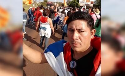 Ismael Barrios otra vez detenido por invasión