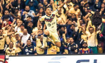 """¡Se lució! Así fue el tremendo gol del """"Cachorro"""" Sánchez para el América"""