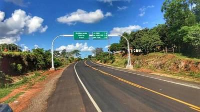 Inauguran pavimentación de tramo que une los distritos de Juan Manuel Frutos y 3 de Febrero