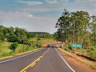 Inauguran tramo que beneficiará a 34.000 personas en Caaguazú