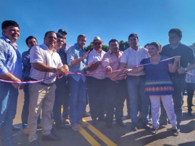Inauguran importante tramo que unirá dos distritos