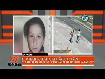 ¿Mataron a Rosita por pacto satánico?