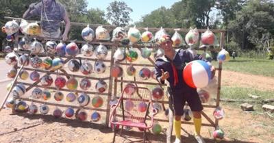 """""""Me piden la pelota cuadrada para los Reyes"""""""