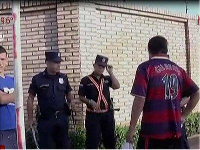 Riña entre barrabravas termina a balazos en Fernando de la Mora